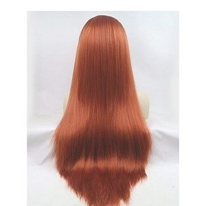 Accessories - Copper Red Yaki Lace Front Wig